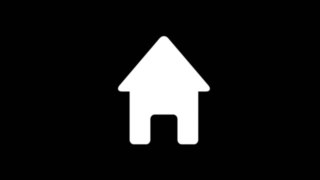 animation - modern real estate glitch background animation - modern real estate glitch background. 4k footage pixel motion icon housing logo stock videos & royalty-free footage