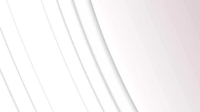 Animation of 3D lines against white background