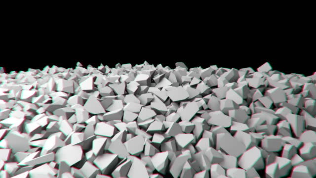 Animation of a collapsing wall. video