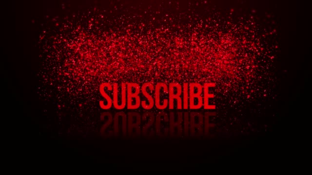 Animation of a Subscribe Button. Choose your favourite Subscribe Button Animation and simply place it into your Videos. Button of subscribers to click and become subscribed - Animation render