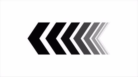vídeos de stock e filmes b-roll de animation of arrows sign animation with optional luma matte. alpha luma matte included. 4k video - mostrar