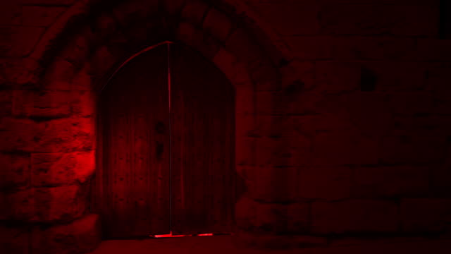 animation of Door Opening To the Hell animation of Door Opening To the Hell vampire stock videos & royalty-free footage