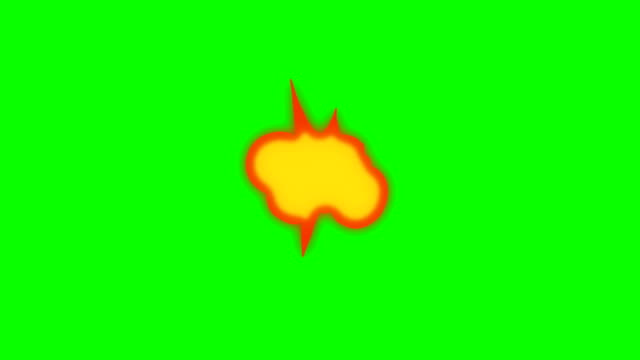 Animation of Fire Burning - Cartoon Fire - Overlay Alpha Channel - Infinite Loop video