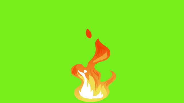 Animation of fire burning Animation of fire burning,Stop motion. flame stock videos & royalty-free footage
