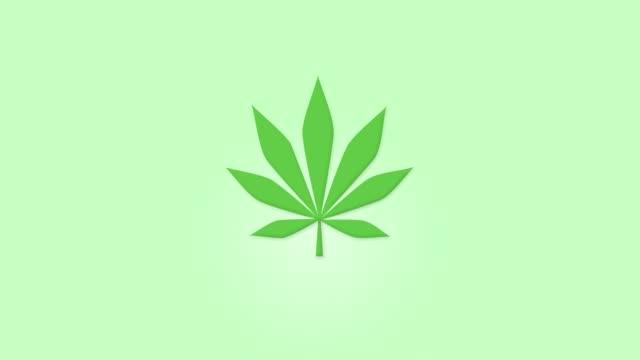 2D animation of green marijuana leaf extracted in to CBD oil. 2D animation of green marijuana leaf extracted in to CBD oil. cbd oil stock videos & royalty-free footage