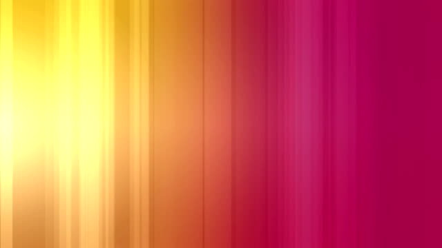 Animation of light effects lines against pink background
