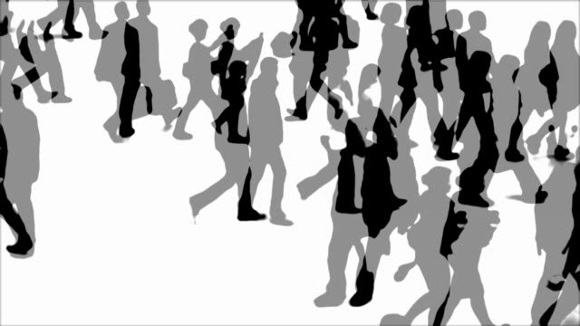 T/L Animation Of People On The Move Time lapse animation in black and white of people walking on a place in London watched by a policeman.   Shot with Carl ZEISS Planar CF 80mm f/2,8 T* Hasselblad lens sicherheit stock videos & royalty-free footage