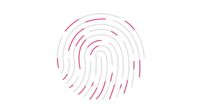 Animation of Scanning Fingerprint