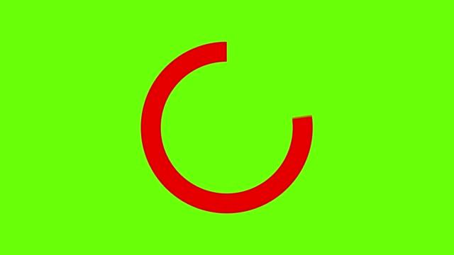 vidéos et rushes de animation des notifications d'icônes de signe d'arrêt qui ne font rien - symbole
