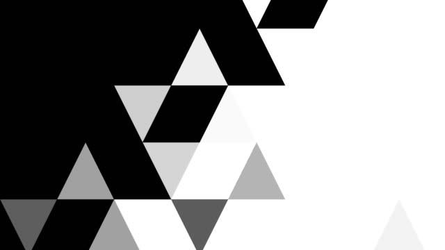 animazione della trasformazione della superficie dallo sfondo nero al video stock bianco - cambiamento video stock e b–roll