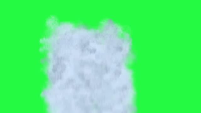 vídeos de stock, filmes e b-roll de animação de cachoeira com fundo de tela verde - cascata