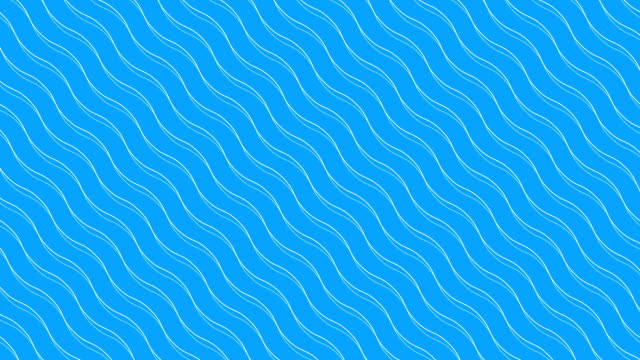 Animation of wave lines seamless loop video