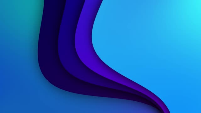 3D animation of waves and rows with colorful blue gradient stripes, modern colors. the concept of childhood and joy 3D animation of waves and rows with colorful blue gradient stripes, modern colors. the concept of childhood and joy. multi colored background stock videos & royalty-free footage