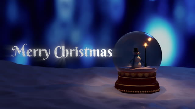 Animation of winter scenery with snow globe, with a snowman. Christmas season festivity concept digitally generated image with christmas wishes Animation of winter scenery with snow globe, with a snowman. Christmas season festivity concept digitally generated image with christmas wishes happy new year 2021 stock videos & royalty-free footage