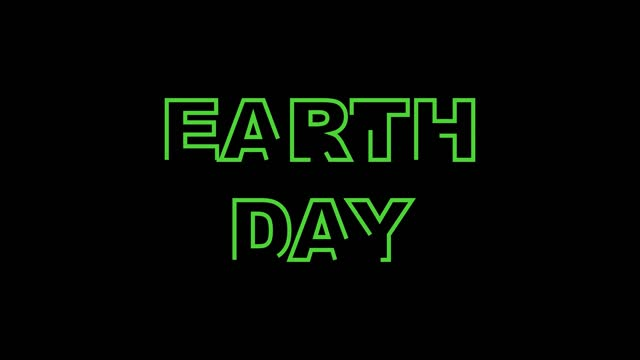 animation of writing words for Earth Day animation of writing words for Earth Day earth day stock videos & royalty-free footage