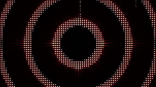 cirklar ljus glödlampa, animering, rendering, bakgrund, loop - kokosfiber bildbanksvideor och videomaterial från bakom kulisserna