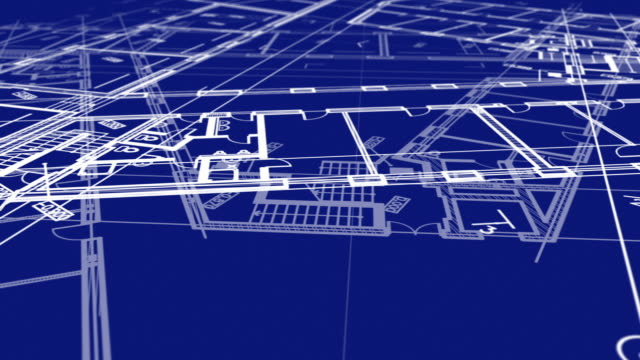 animation showing a Technical Drawing of floor design being drawn with great detail and ready 3d model Of Industrial Buildings animation showing a Technical Drawing of floor design being drawn with great detail and ready 3d model Of Industrial Buildings vintage architecture stock videos & royalty-free footage