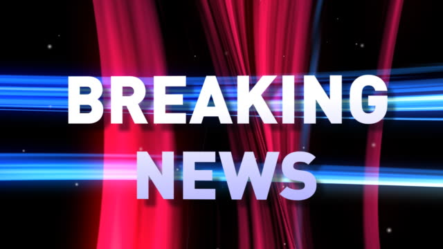 HD: 3D BREAKING NEWS animation video