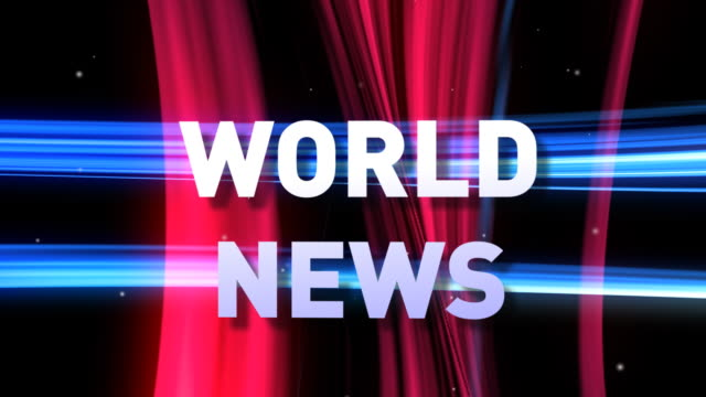 HD: 3D WORLD NEWS animation video