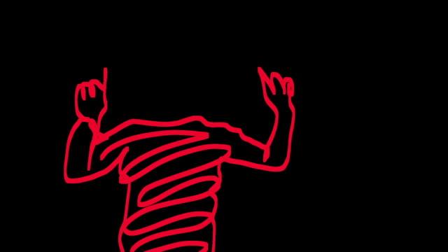 animation - geköpft stock-videos und b-roll-filmmaterial