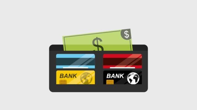 動畫錢包銀行 - 銀包 個影片檔及 b 捲影像