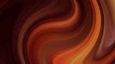 vídeos de stock e filmes b-roll de animation waving surface of caramel - castanho