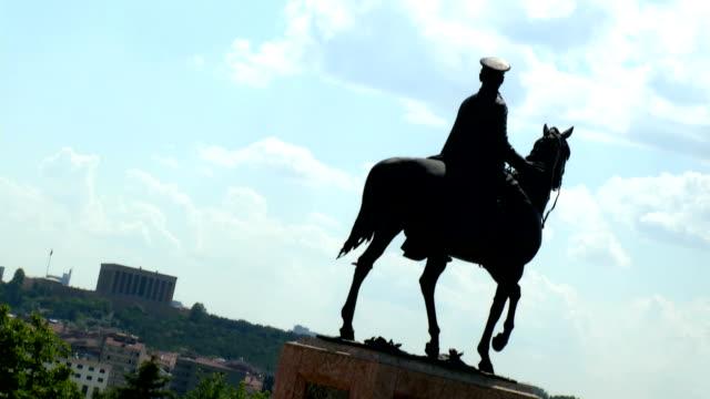 ankara capital and Ataturk's mausoleum details . atakule and castles video