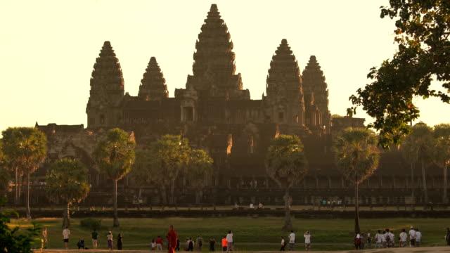 ankor wat, siem reap, kambodscha - kambodschanische kultur stock-videos und b-roll-filmmaterial