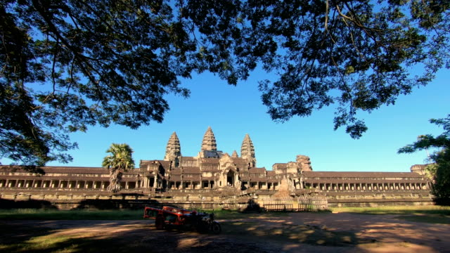 ankor wat, siem reap, cambodia - wat video stock e b–roll