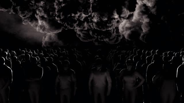 vídeos y material grabado en eventos de stock de concepto de multitud annona - misa