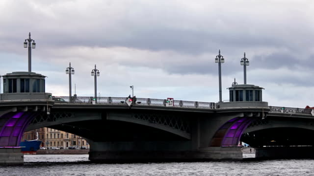 Annunciation Bridge, pan right to left