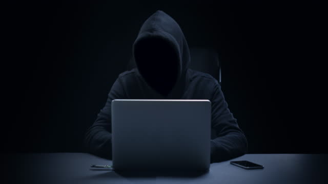 Anonyme Computer-Hacker – Video