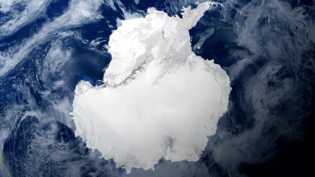 antarktyda od miejsca - antarktyda filmów i materiałów b-roll
