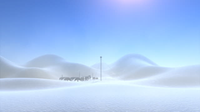 antarktyda wyróżnione miejsce - antarktyda filmów i materiałów b-roll
