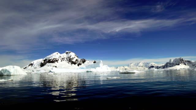 vídeos y material grabado en eventos de stock de antártida: paraíso puerto - viaje a antártida
