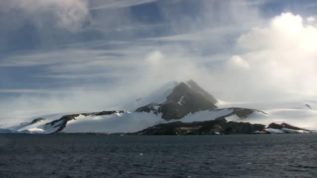 南極半島の山々氷河(HD 1080 ビデオ