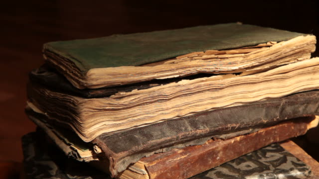 Antique books video