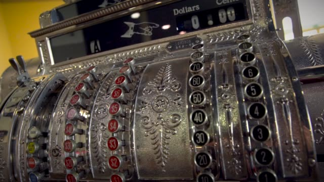 antique cash register video