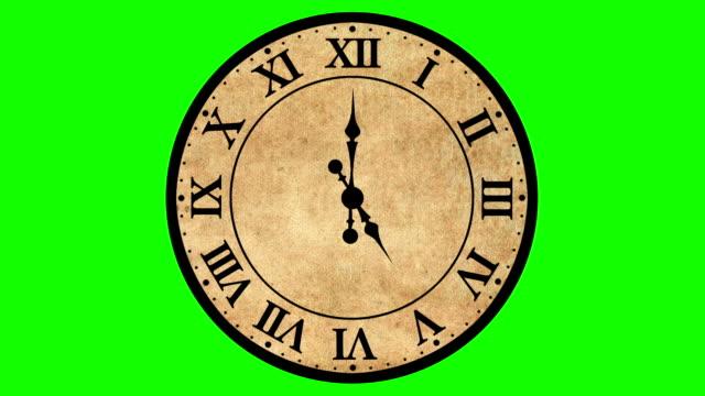 アンティークな時計タイムラプス - 骨董品点の映像素材/bロール