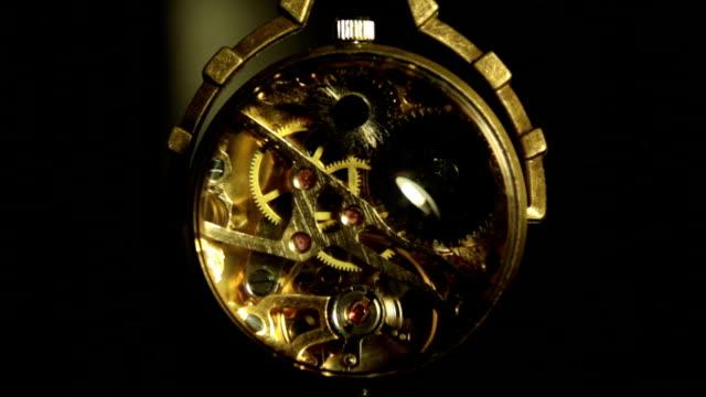 Antique clock video