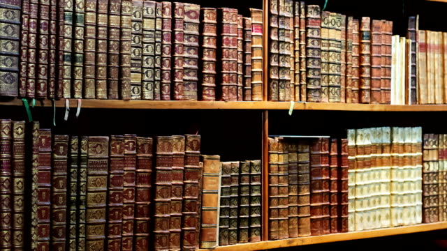 Antique Library video