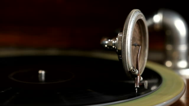 HD: Antique Phonograph Player video