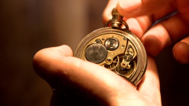 Antique Pocket Watch - HD 1080p video