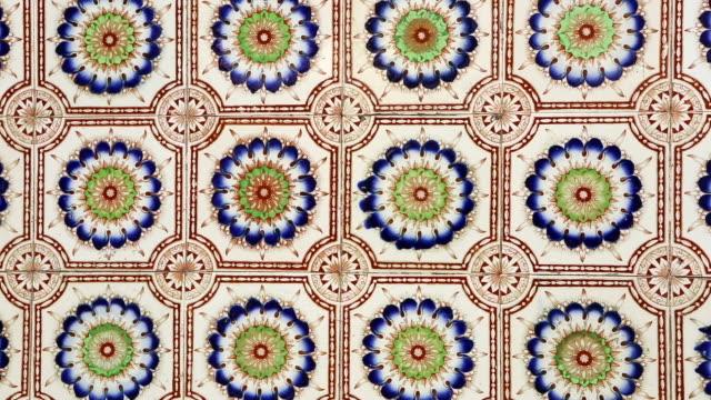 antique shophouse ceramic tile penang malaysia video