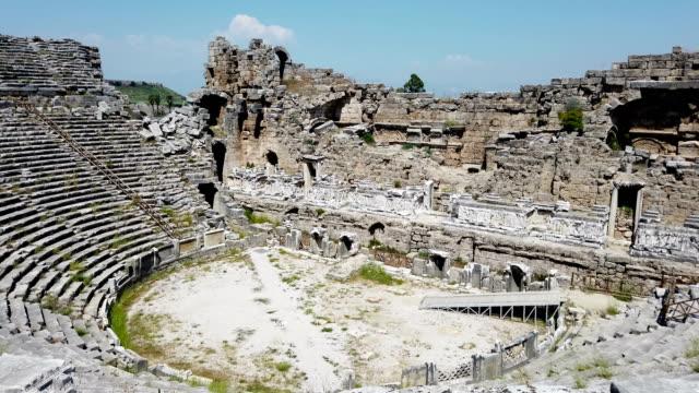 Antique theatre of Perge video