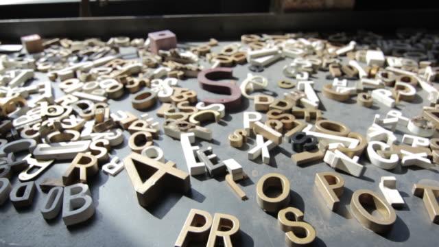 Antique_Wooden_Letters video