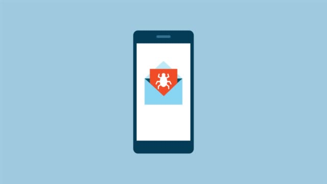 program antywirusowy wykrywający wiadomość e-mail ze złośliwym oprogramowaniem - phishing filmów i materiałów b-roll