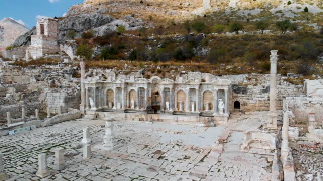 Antonine Nymphaeum / Fountain at Sagalassos , Poinf Of Interest Shoot