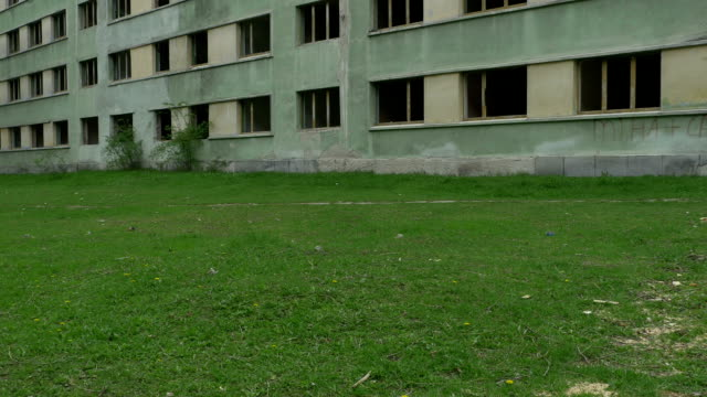 Apartment Block Abandoned video