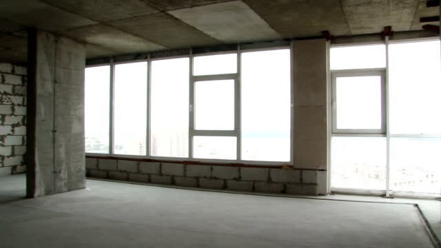 apartment  new building apartment  new building with views of the city from the window post modern architecture stock videos & royalty-free footage